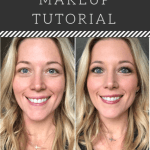 A step by step makeup tutorial for beginners. Putting on makeup everyday can be done fast and look natural! #makeup #tutorial #makeuptutorial #arbonne #veganmakeup #vegan