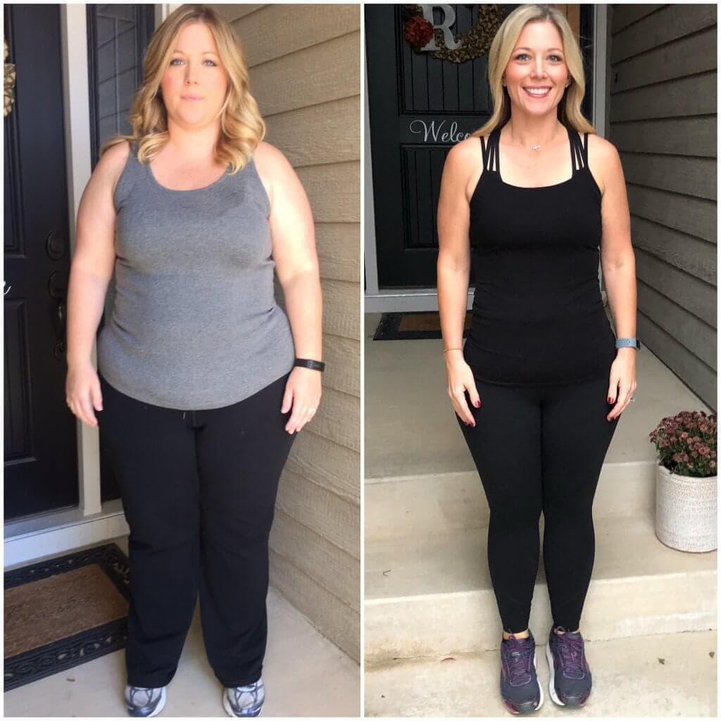 Side by side- How Losing 100 pounds helped me find myself