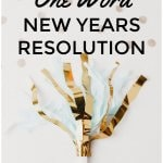 One Word New Years Resolution #newyear #newyearsresolution