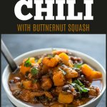 This Slow Cooker Turkey Black Bean Chili with Butternut Squash is an easy recipe that is an excellent way to incorporate more veggies into your diet! #slowcooker #turkey #turkeychili #chili #butternutsquash #slowcookerchili