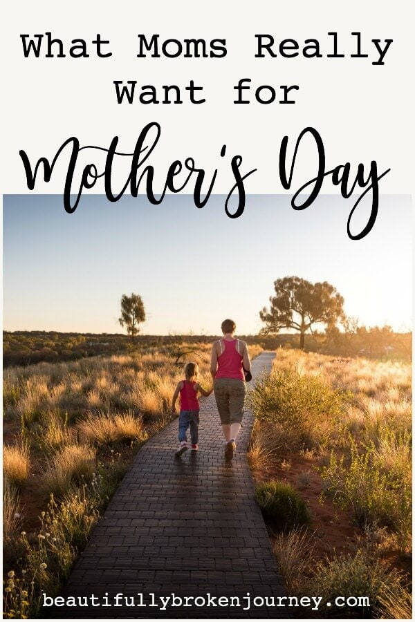 There is one thing that most Mom's want on Mother's Day. It can't be found at any store, or bought with any money. Most Mom's just want your time. #mothersday #mom #mother #giftsformothersday