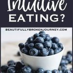 Intuitive eating is a dynamic mind-body integration of instinct, emotion and rational thought. It is a personal process of honoring your health by paying attention to the messages of your body and meeting your physical and emotional needs. #intuitiveeating #bodykindness #antidiet #dietculture #mindfuleating #healthyhabits
