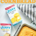 If you need an easy cornbread recipe this Easy Sweet Cornbread is a perfect addition to your favorite chili! #cornbread #easycornbread
