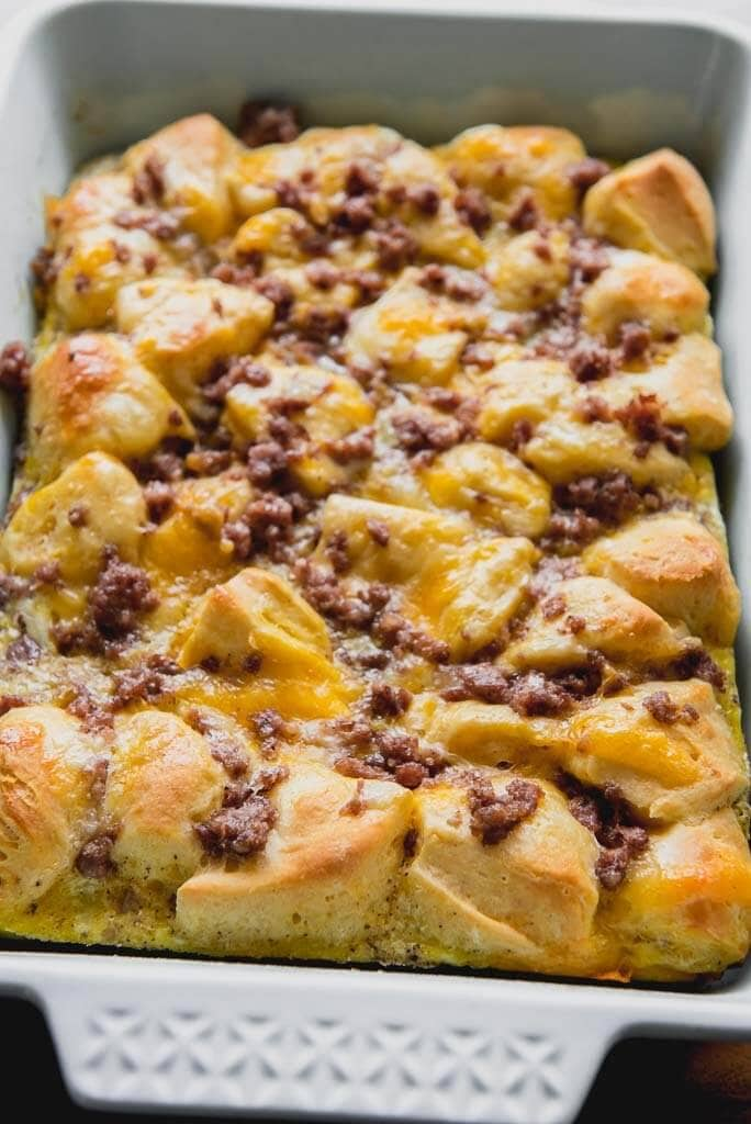 Photo of Breakfast Casserole with Biscuits