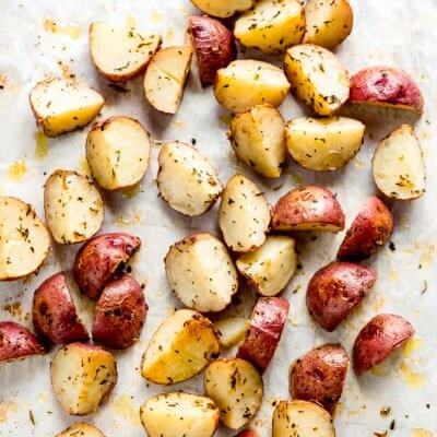 Italian Roasted Baby Potatoes