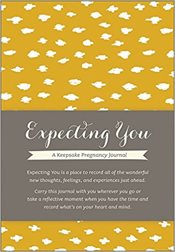 Expecting You journal for gifts for expecting mothers