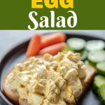 The easiest egg salad ever. Great Day Farms hard boiled eggs make it simple to make and is a recipe you'll make again and again! #EggceptionallyGreat #eggsalad #avocadoeggsalad