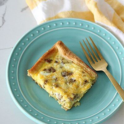 Breakfast Casserole with Crescent Rolls