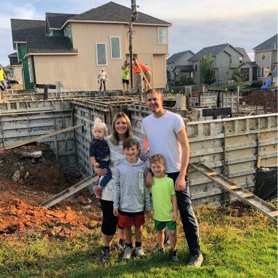 The decision to build our dream home