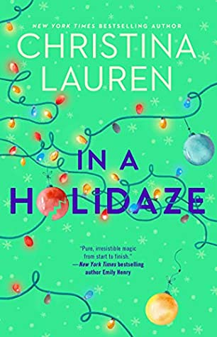 The book cover for In a Holidaze